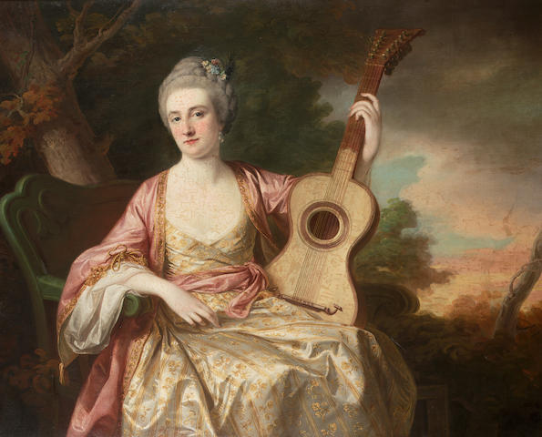 Francis Cotes (London 1726-1770) Portrait of Maria Walpole, Countess of Waldegrave and later Duchess