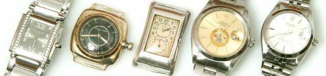 Rolex. A rectangular silver wristwatch, Prince, case numbered 0978 971U