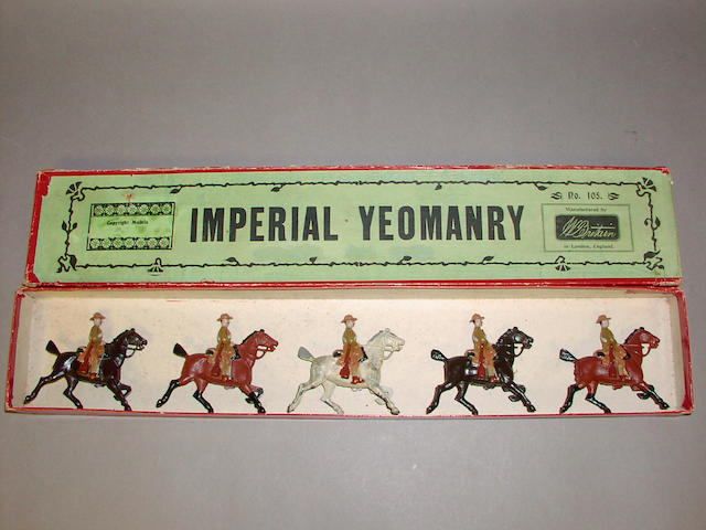 Britains set 105, Imperial Yeomanry 5
