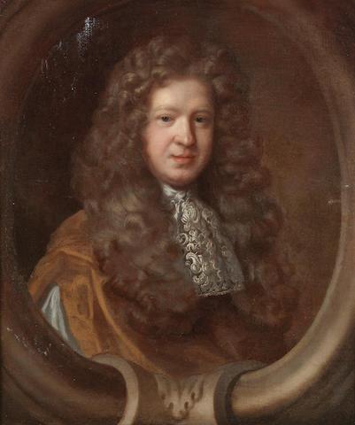 Attributed to Mary Beale (Barrow 1633-1699 London) Portrait of Richard Beavis  78 x 65 cm. (30¾ x 25½ in.) (2)