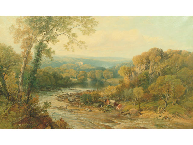 Frederick William Hume, Barden Tower on the Wharfe, Yorkshire
