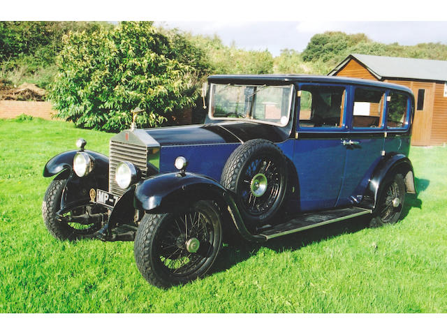 1927 Rolls-Royce 20hp 3.1-litre Six-Seater Limousine  Chassis no. GUJ 36 Engine no. F4V