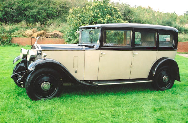 1932 Rolls-Royce 20/25hp Limousine  Chassis no. GMU 29 Engine no. M5X