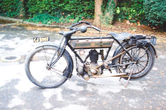 1912 Triumph 500cc 3 1/2hp Model