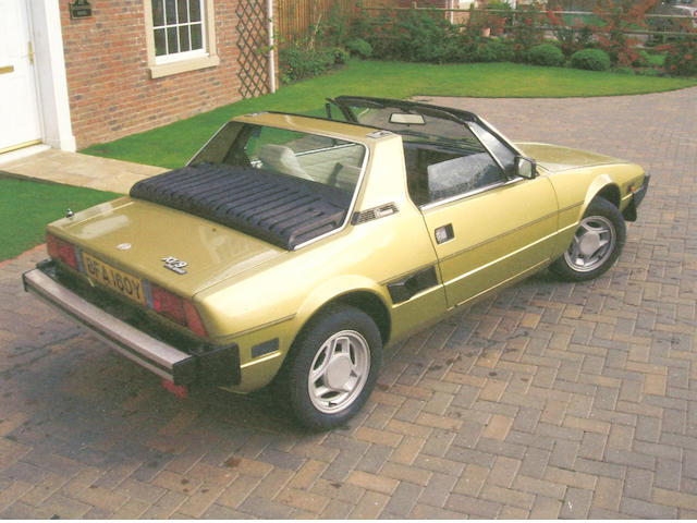 1982 Fiat X1/9 1500 Coupe 0135623