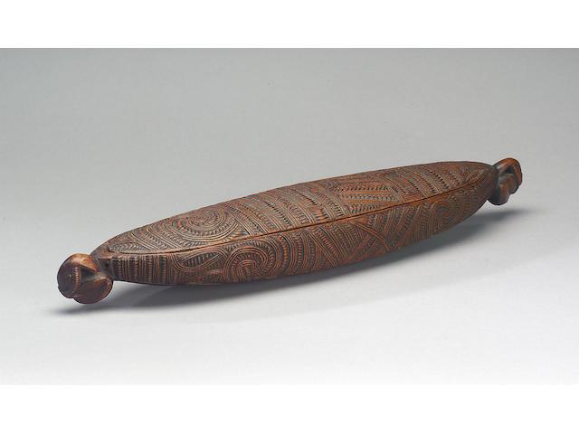 A Maori Box 48cm. long