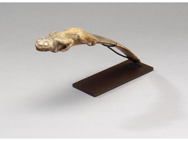 A Taino Vomit Stick 23cm. long