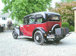 1933 Austin 16/6 Saloon  Chassis no. 32182 Engine no. 32429
