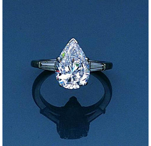 A diamond ring by Kutchinsky