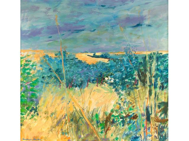 "Robert Henderson Blyth RSA RSW (1919-1970) ""Summer at Dufftown"" 100 x 105cm (40 x 42ins)"