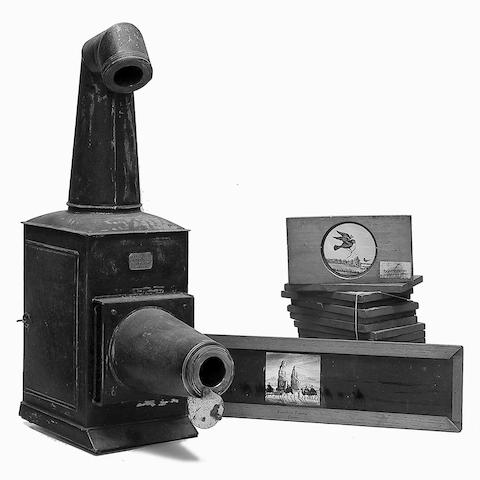 Magic Lantern and slides,