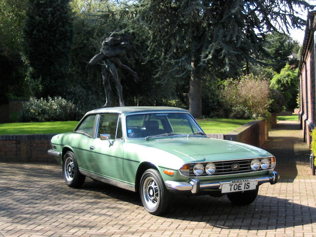 1978 3-litre Triumph Stag Convertible with Hard Top  Chassis no. LD453810 Engine no. LF044923HE