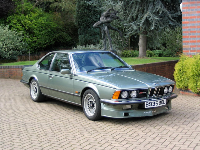 1984 BMW 635CSi Alpina B9 Coupe  Chassis no. WBAEC820708186322 Engine no. 41563520