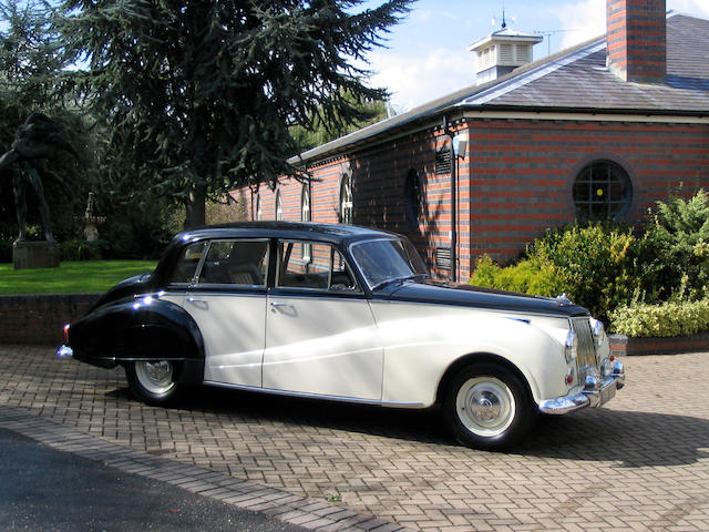 1959 4-litre Armstrong Siddeley Star Sapphire Saloon  Chassis no. 330295 Engine no. 320308