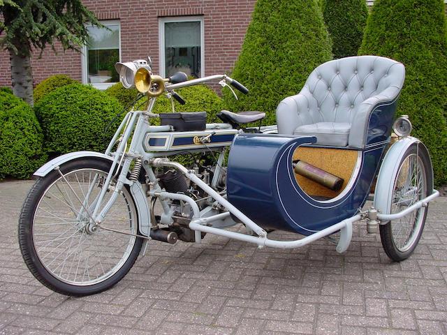 1912 Clyno 5/6hp Motorcycle Combination  Frame no. 2825 Engine no. 2825