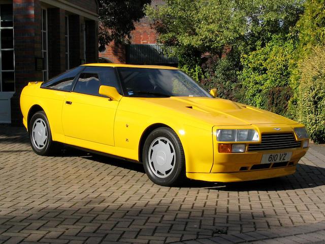 1987 Aston Martin V8 Vantage Zagato Coupé  Chassis no. SCFCV81Z1GTR20028 Engine no. V/580/0028X
