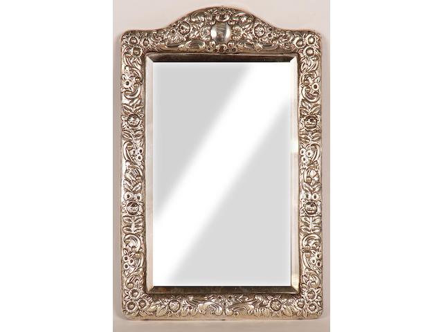 A Victorian easel mirror, Birmingham 1897,