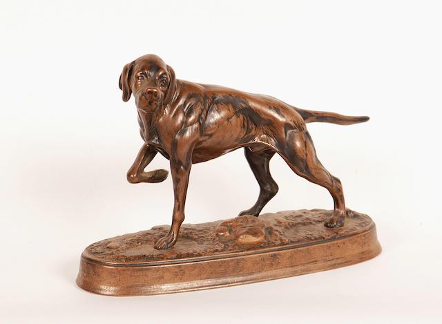 A Beswick dog,