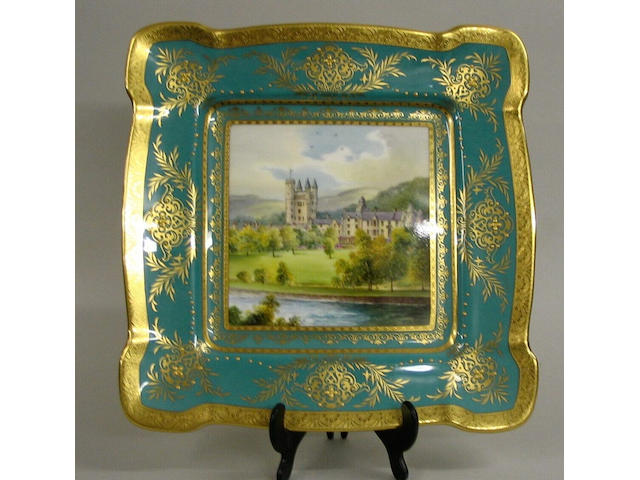 A contemporary Minton plaque,