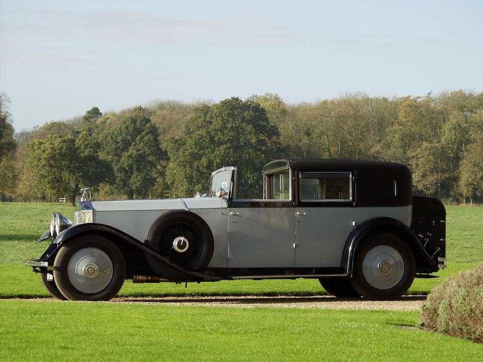 Originally the personal property of the late Rt Hon The Earl Mountbatten of Burma, KG, PC, GCB, OM, GCSI, GCIE, GCVO, DSO, FRS,1929/30 Rolls-Royce Rolls-Royce Phantom II 40/50hp Sedanca de Ville  Chassis no. 133 WJ Engine no. KY 85