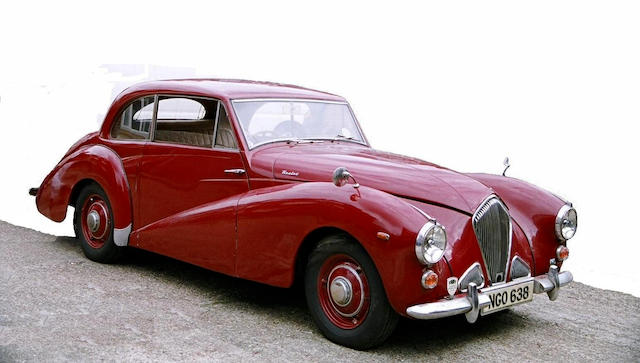 1952 Healey Tickford Saloon  Chassis no. F3066 Engine no. F8199