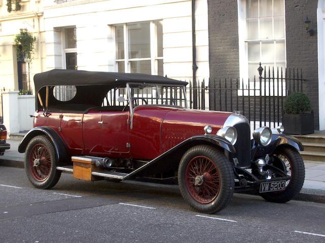 1928 Bentley 3-Litre Tourer  Chassis no. DN 1734 Engine no. DN 1736