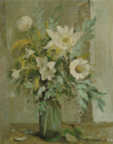Edward Wesson (British, 1910-1983) Silver and Gold 20 x 16 in. (51 x 41cm.)