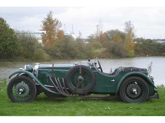 The 1935 Collier/Mitchell-Thomson Le Mans Car,1934 Frazer Nash TT Replica 1,496cc Sports Two Seater  Chassis no. 2142 Engine no. 7/111