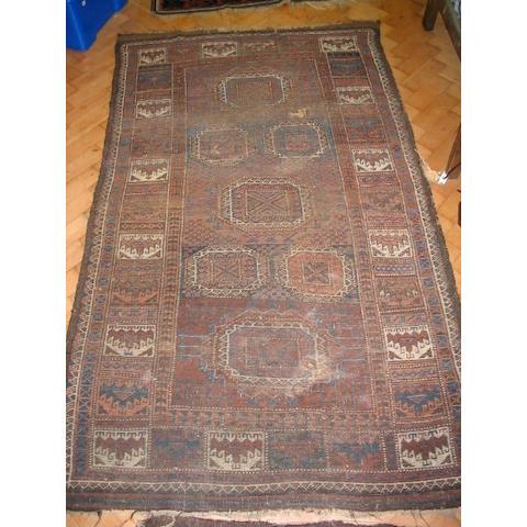 An Afghan rug, West Afghanistan, 1.88 x 109cm