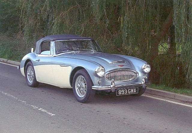 1963 Austin-Healey 3000 MkII Convertible 4/BJ7-23484