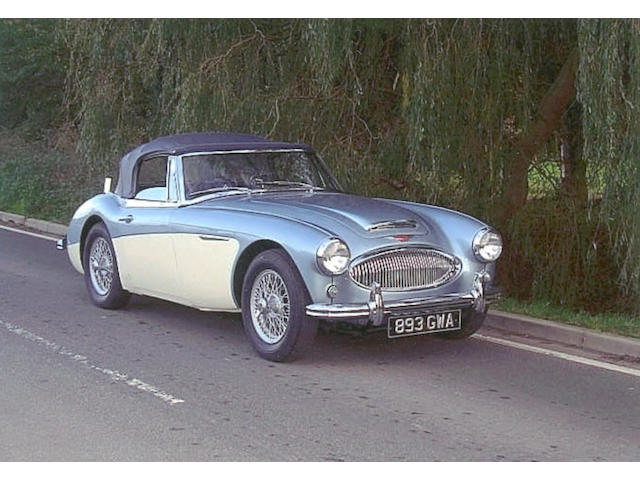 1963 Austin-Healey 3000 MkII Convertible  Chassis no. 4/BJ7-23484 Engine no. 29FUH-4667