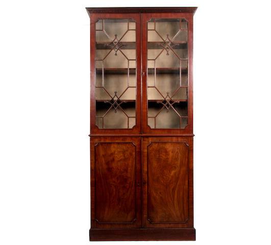 A mid Victorian mahogany bookcase