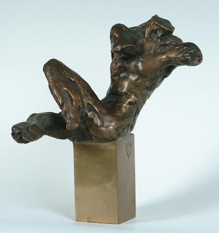 Enzo Plazzotta (Italian, 1921-1981) 8 in. (20cm.)