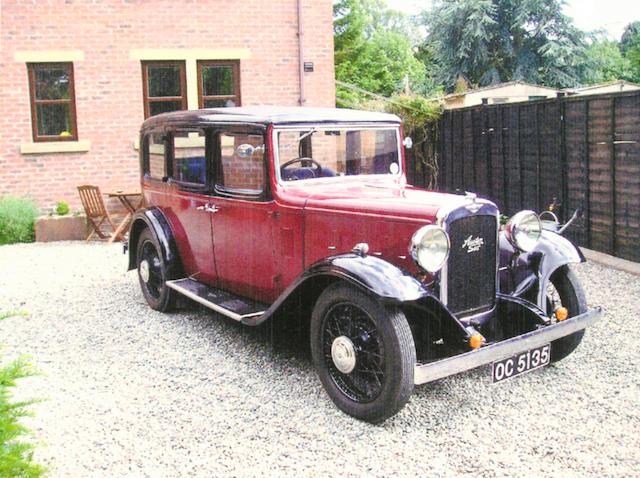1933 Austin 16/6 Saloon 32182