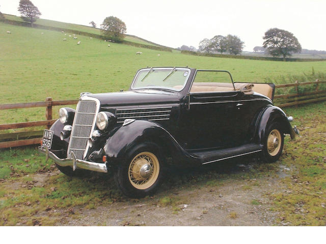 1935 Ford V8 Model 48 'Rumble Seat' Cabriolet 2118337