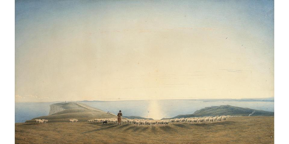 William Turner of Oxford, O.W.S. (British, 1789-1862) 31 x 56 cm. (12 1/4 x 22 in.)