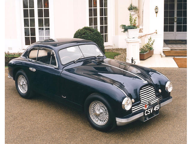 The Property of a Deceased Estate,1952 Aston Martin DB2 Saloon  Chassis no. LML/50/166 Engine no. VB6E/50/1231