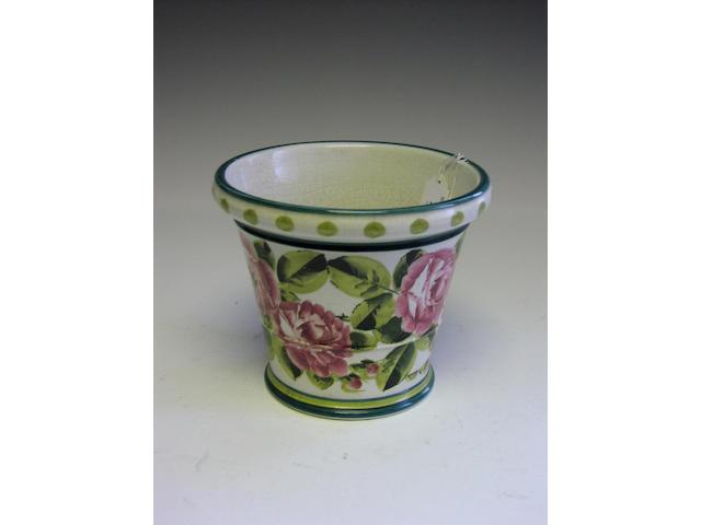 Wemyss, A 'Stuart' flower pot,