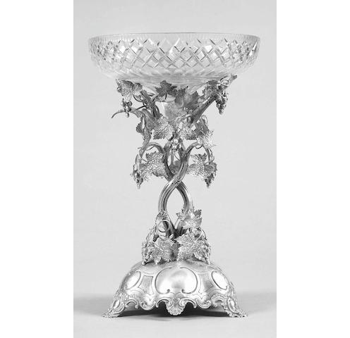 A Victorian table centrepiece Frederick Elkington, 1872,