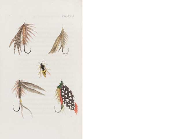 BAINBRIDGE (GEORGE COLE) The Fly Fisher's Guide, Illustrated by Coloured Plates, Representing Upward