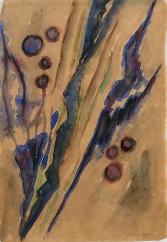Natalia Sergeevna Goncharova (1881-1962) Untitled 26 x 18.2 cm. (10 1/4 x 7 1/8 in.)