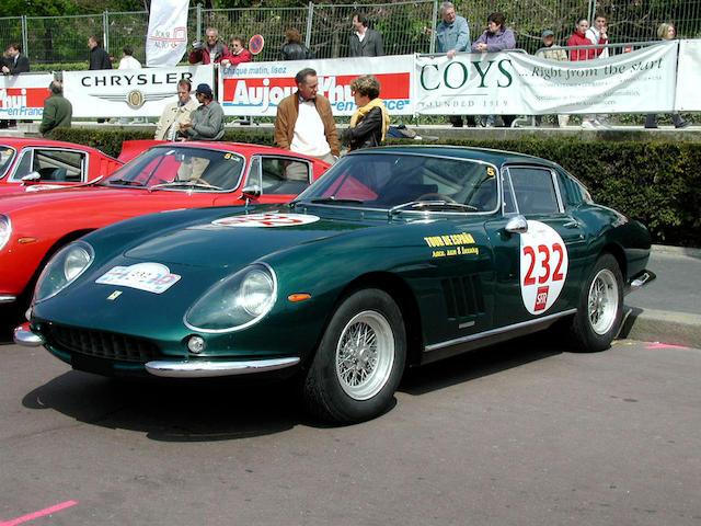 1966 Ferrari 275 GTB Berlinetta  Chassis no. 8359 Engine no. 8359