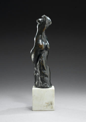 Pablo Gargallo (1881-1934) Petite faunesse debout Height: 24.8 cm. (9 3/4 in.)