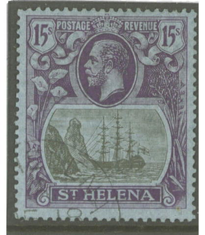 St Helena: 1922-37 wmk. MCA and Script sets, mainly fine used. S.G. £2600. (212)