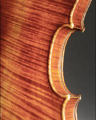 A good English Violin attributed to  Henry Lockey Hill ca 1820 after the Long Pattern Stradivarius
