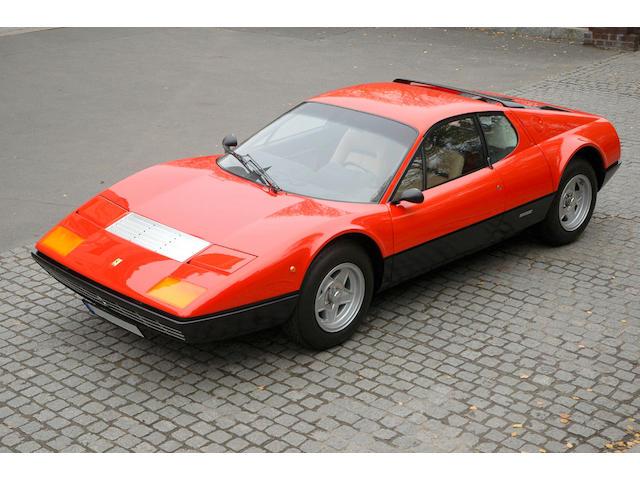 Ex-King Hussein of Jordan, 6,152km from new,1974 Ferrari 365GT/4BB Berlinetta Boxer  Chassis no. 17751