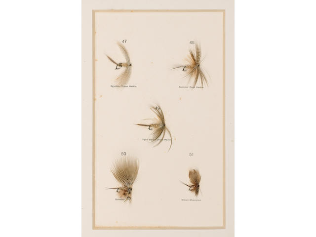 HALFORD (FREDERIC M.) Dry Fly Entomology. A Brief Description of Leading Types of Natural Insects se