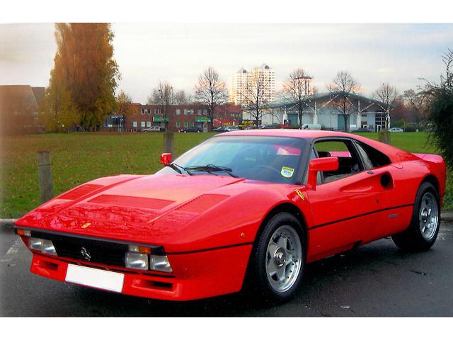 1985 Ferrari 288GTO  Chassis no. ZFFPA16B000052729