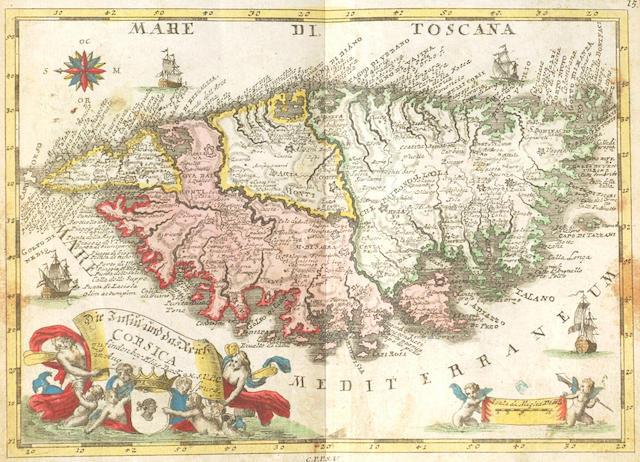 MASCHENBAUER (JOHANN ANDREAS ERDMANN) Der Curiose... Allgemeines Zeitungs-Handbuch... mit Land-Charten
