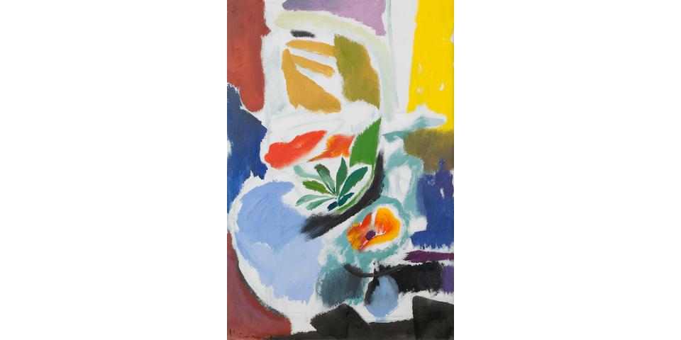 Ivon Hitchens (1893-1979) Poppy Group 104 x 70 cm. (41 x 27 1/2 in.)